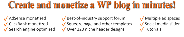 Create and Monetize a WordPress Blog in Minutes